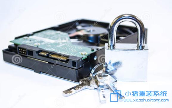 应该如何给磁盘上锁?