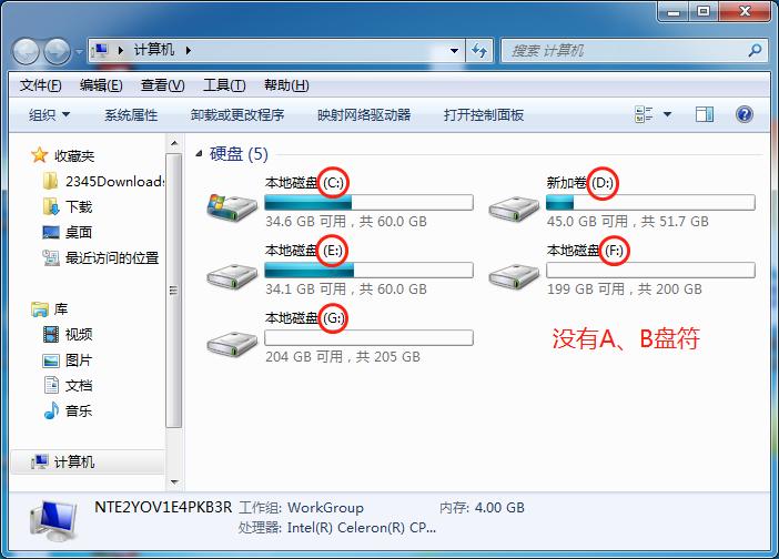 Windows有没有A、B盘,如何找回?